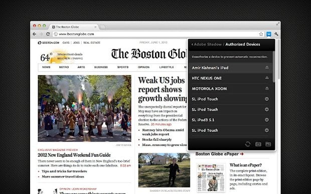Adobe Shadow: Synchronized Mobile Website Testing ...