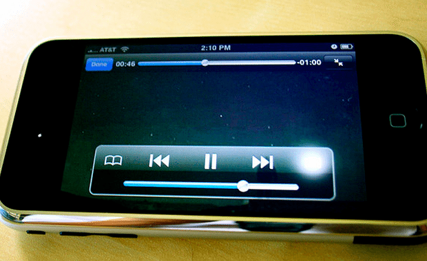 YouTube streaming video on iPhone mobile iOS