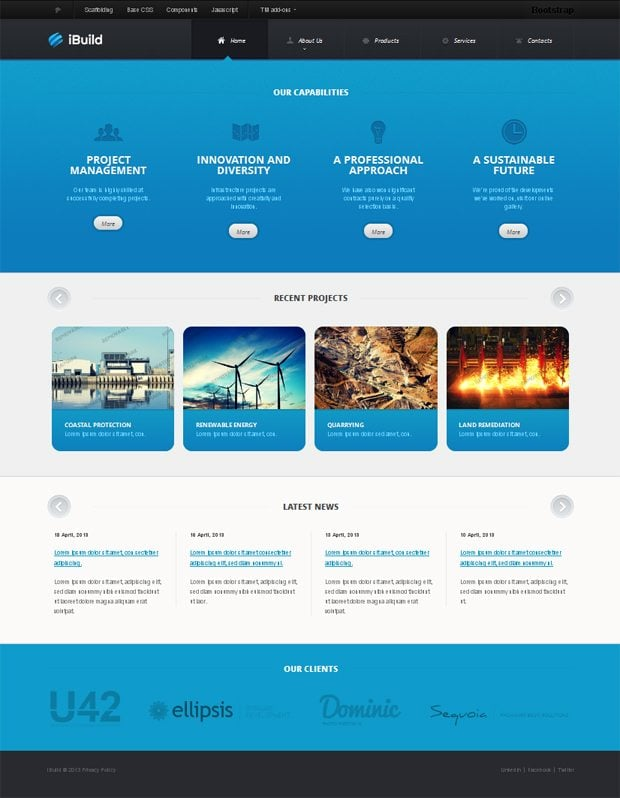 A selective digest of bootstrap themes at templatemonster bootstrap themes pronofoot35fo Image collections