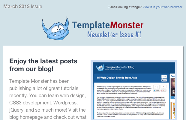 Designing & Coding Your Own HTML Newsletters - MonsterPost