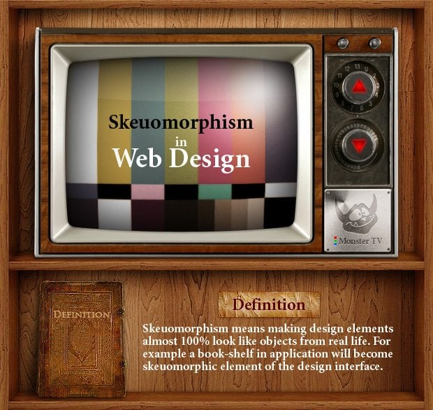 Pros And Cons Of Skeuomorphic Web Design