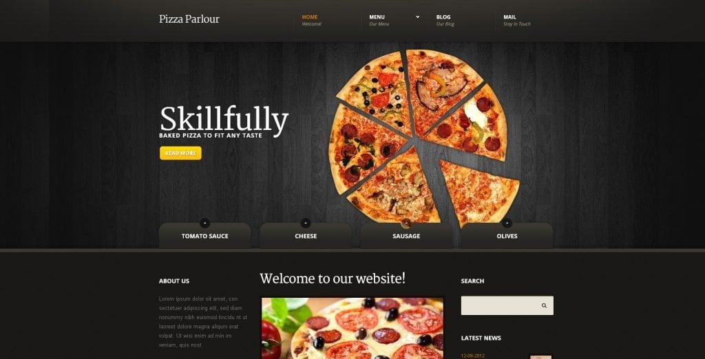 design battle pizza websites vs templatemonster s themes monsterpost