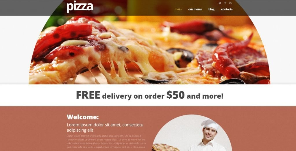 10+ best free responsive restaurant wordpress theme 2019.