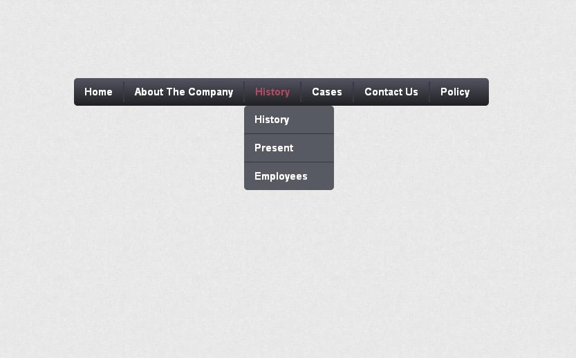 how to create a drop down menu in css