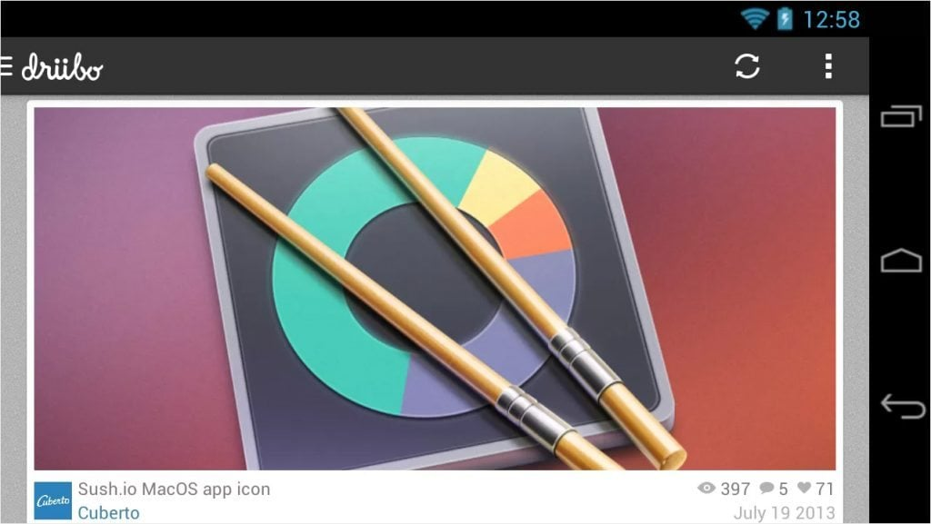 Dribbble tools and apps