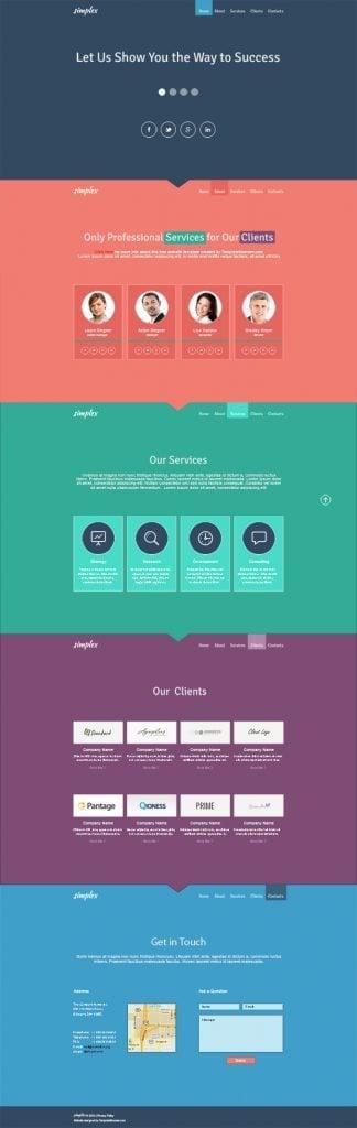 Single web sites