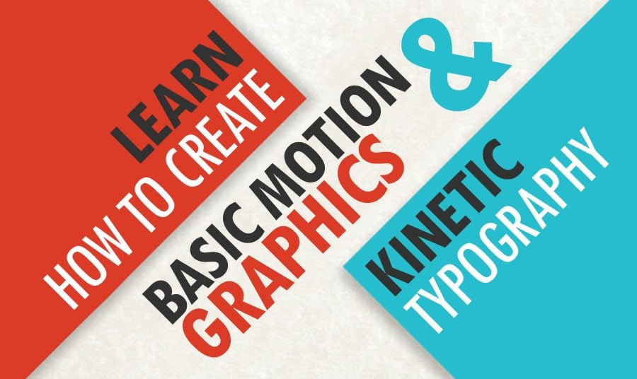 learn how to create basic motion graphics kinetic typography monsterpost