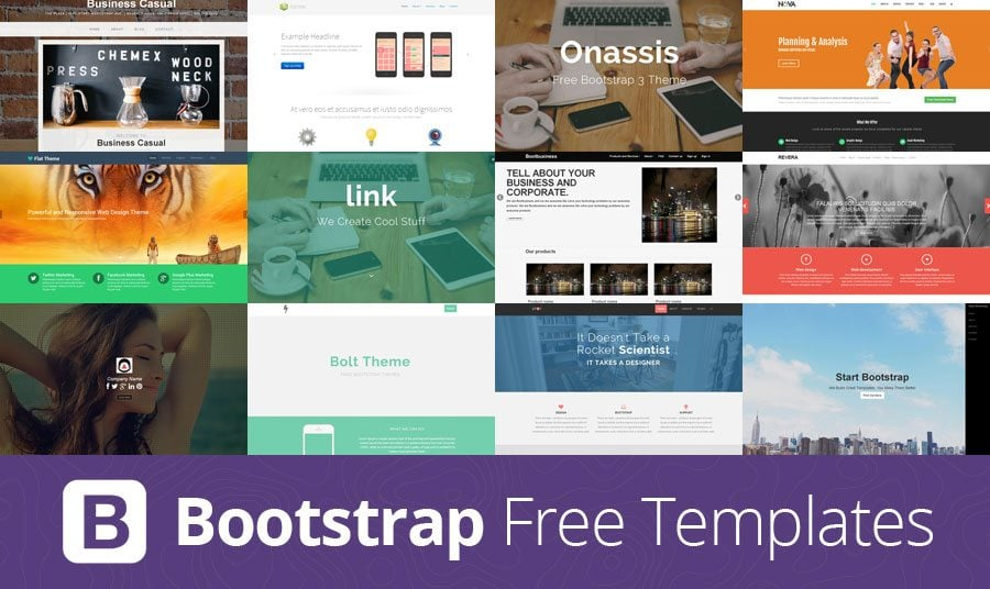 Free bootstrap templates from around the web monsterpost free bootstrap templates from around the web maxwellsz