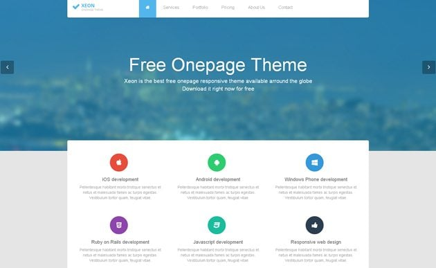 Free bootstrap templates from around the web monsterpost free bootstrap templates maxwellsz