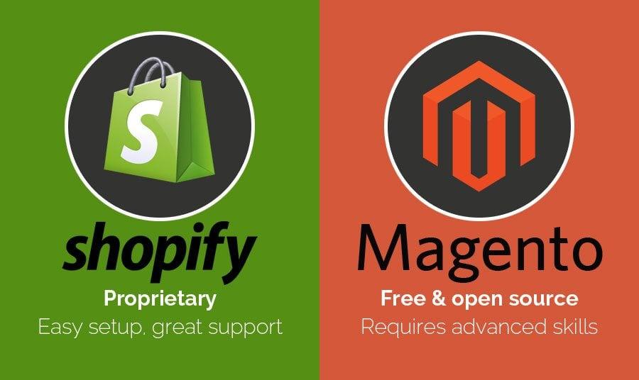 The Clash of Titans: Shopify vs. Magento - MonsterPost