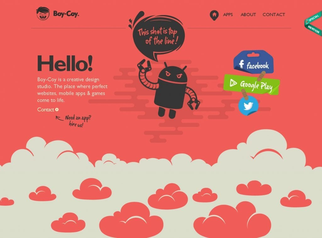 Parallax Scrolling Designs