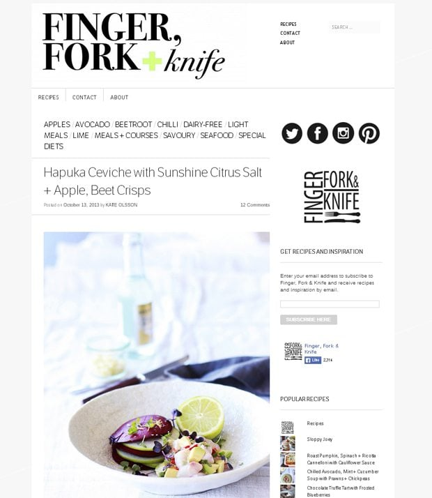 food blogging tips