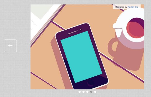 glidejs jquery animated slider plugin tutorial screen