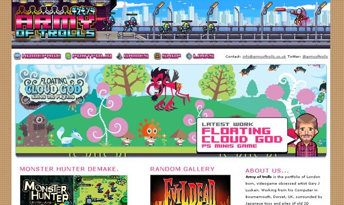 Army-of-Trolls Pixel Art Website @koolgadgetz.com.info