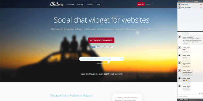 Chatwee Live Chat