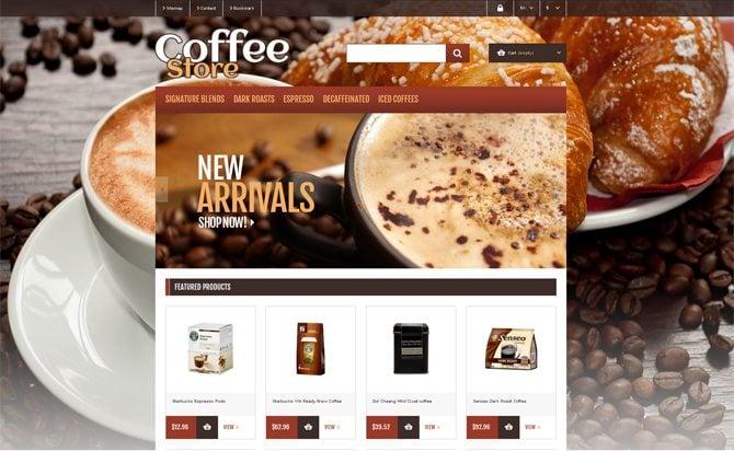 Coffee Website Designs