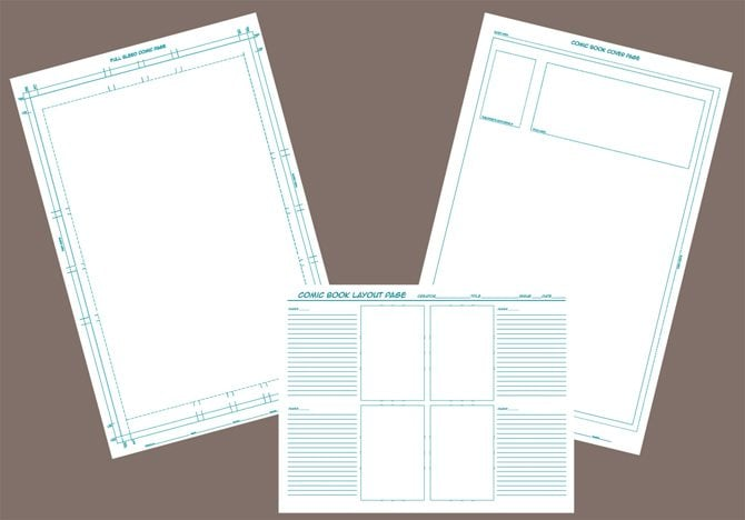 Comic Template Kit 1