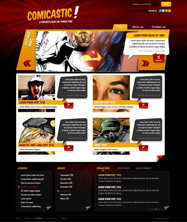 Free book psd mockups comic book psd creation kit for Draw website layout online