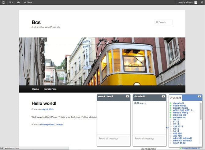 Jabze Chat - Intranet IM for Colleagues