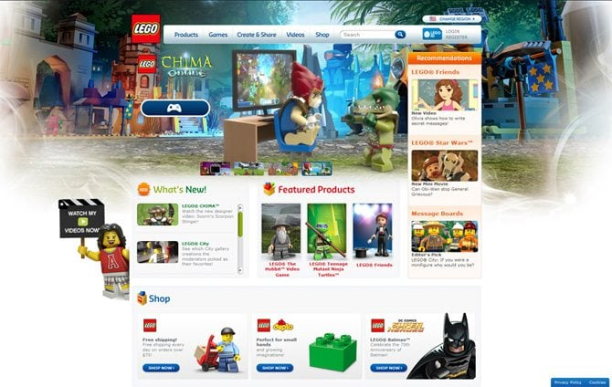 Welcome to the lego world play and develop your creativity at the lego pronofoot35fo Images