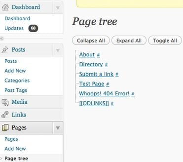 navigation plugin wordpress