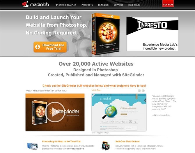 Sitegrinder download free.