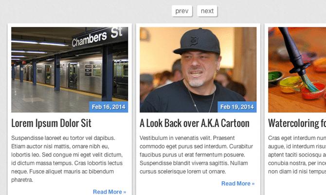 carousel slider jquery tutorial responsive articles slider