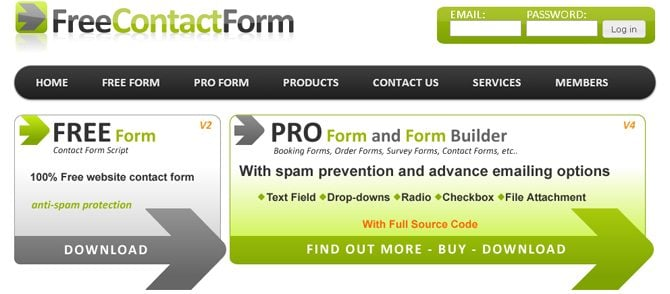 10 Quick and Easy Contact Form Builders for Your Site - MonsterPost