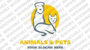 Animals Pets Logo Template 1