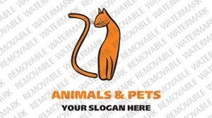 Animals Pets Logo Template