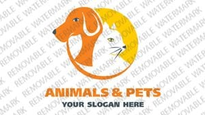 Animals and Pets Logo Template