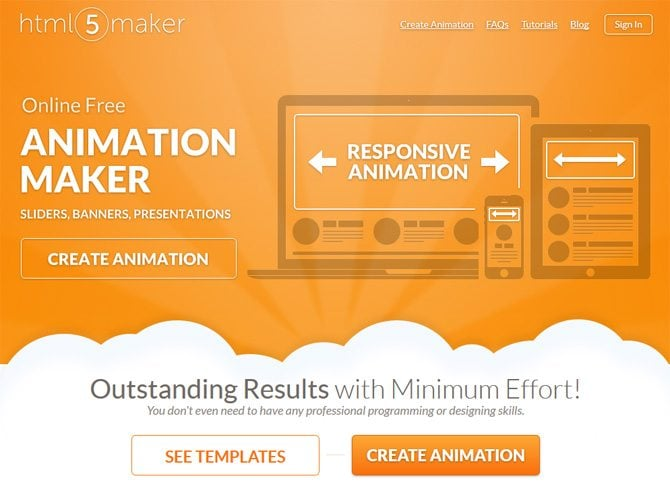 Top Free HTML5 Animation Tools for 2017 to Add Some Motion to a Page