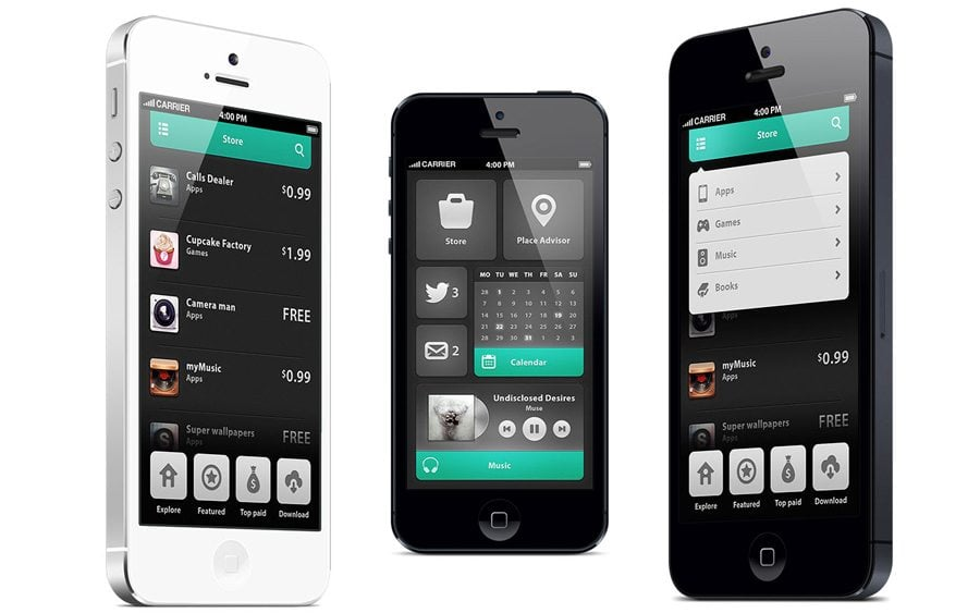 7 Pro Tips To Create Intuitive Mobile Application Interface Design ...