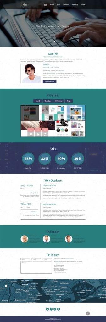 Writer HTML5 Themes