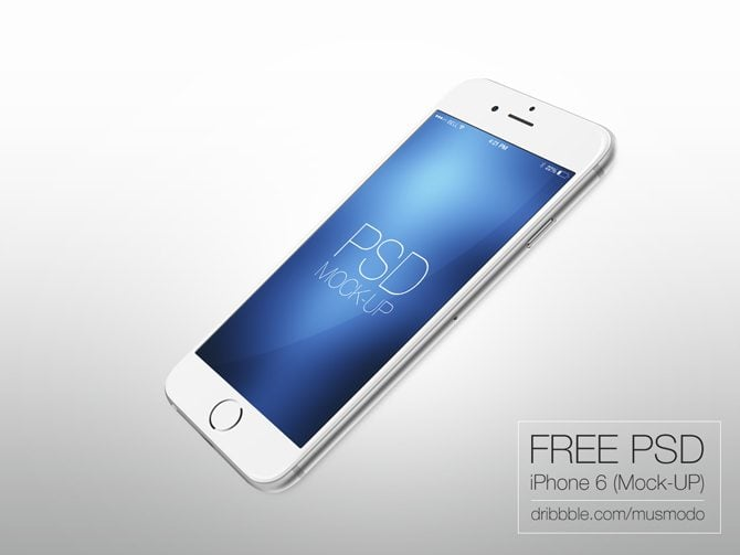 FREE MOCKUP IPHONE 6