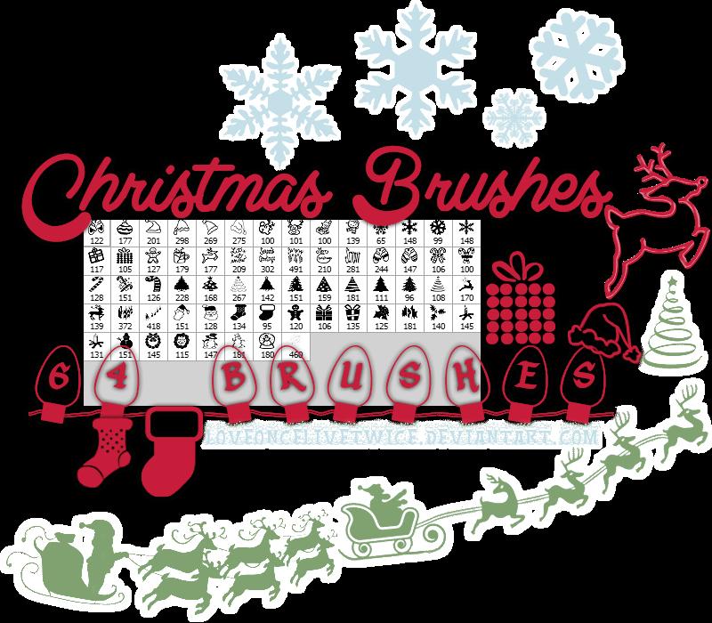 christmas_brushes