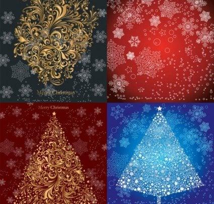 christmas_pattern_vector