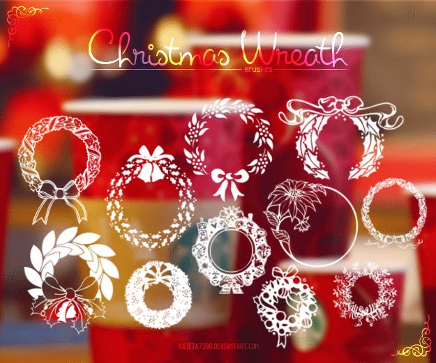 christmas_wreath__brushes