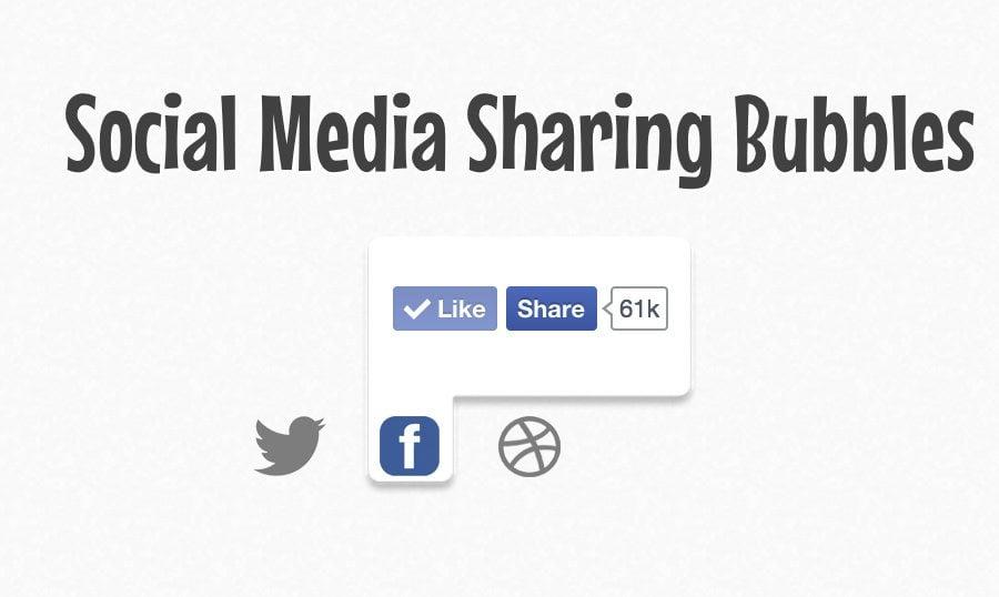 social-media-sharing-popup-bubble