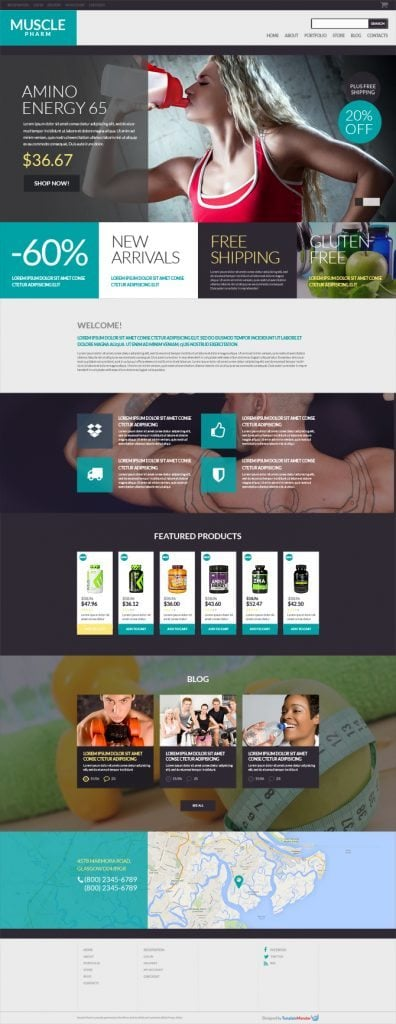 Free WooCommerce Theme for Drug Store