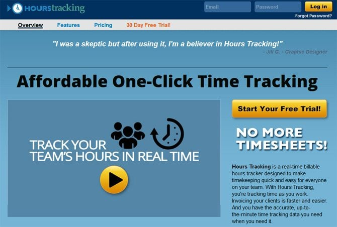 Hours-Tracking