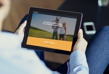 Send Warm Greetings to The Target Audience with Family Center Free Joomla Template