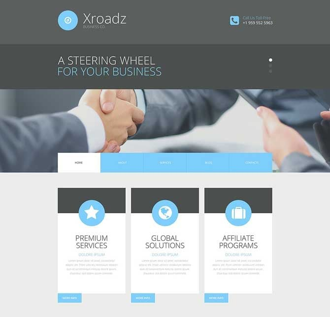 google-friendly-website-template