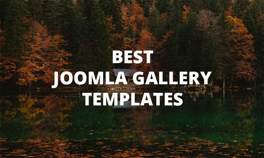 10 Best Joomla Gallery Templates - MonsterPost