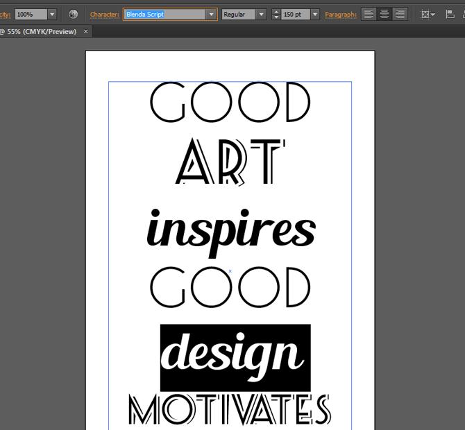 how to create retro poster in illustrator