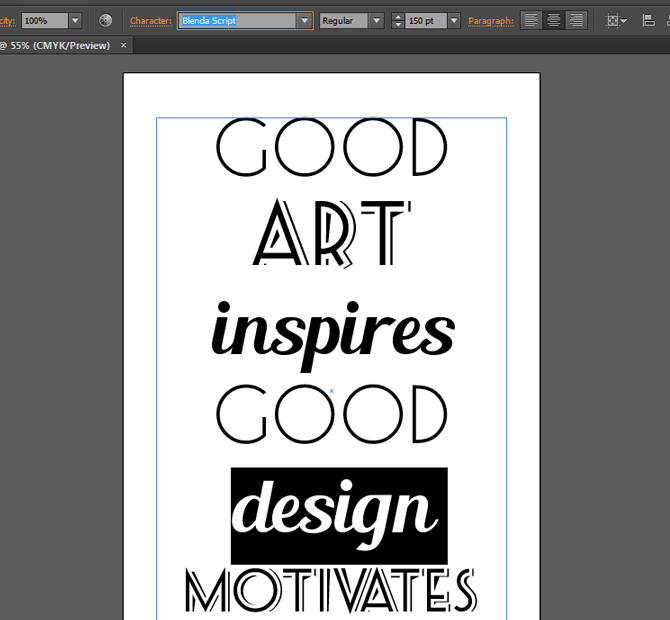 Creating a Vintage Typographic Poster Design in Adobe