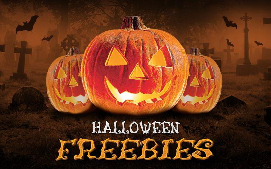 top halloween web design freebies