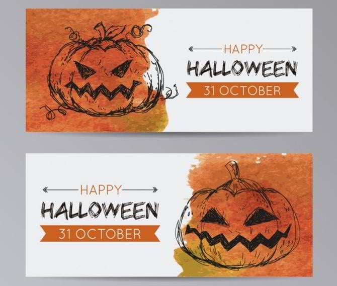 top halloween web design freebies for your site