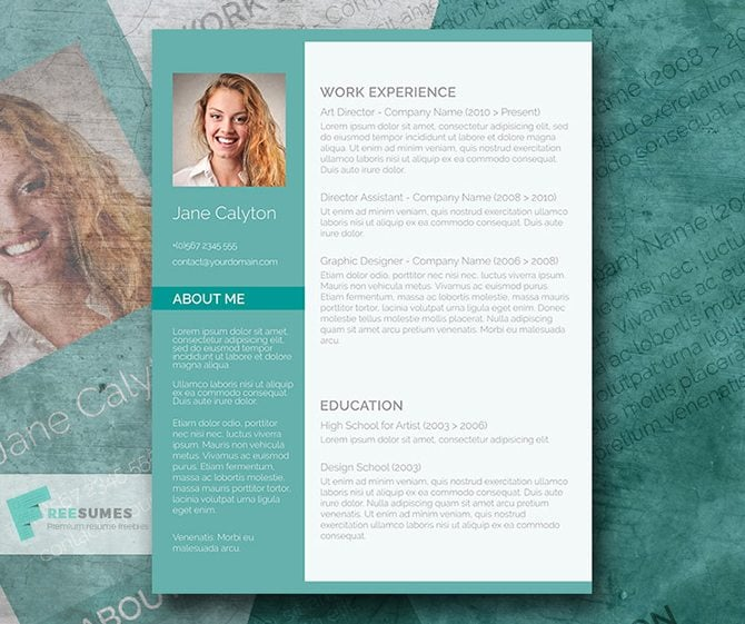 Fancy Resume Template 40 Best 2018's Creative Resumecv Templates  Printable Doc