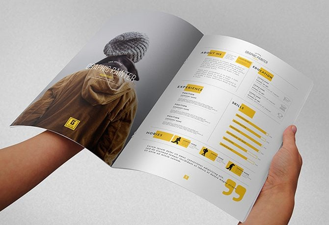 40 Best 2018s Creative ResumeCV Templates Printable DOC